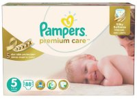 Pampers Подгузники Premium Care 5 Junior (11-18 кг) Мега Упаковка 88