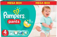 PAMPERS Подгузники-трусики Pants для мальчиков и девочек Maxi (9-14 кг) Мега Упаковка 104