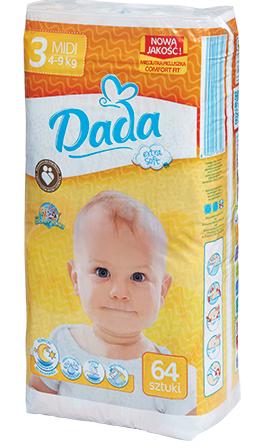 Подгузники (памперсы) Dada Premium 3 (128 шт) купить в интернет ... c44e928427a